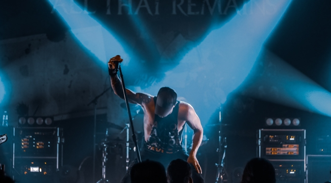 All That Remains, Unearth, Big Story & The 9th Planet Out at Music Farm 6/2/19